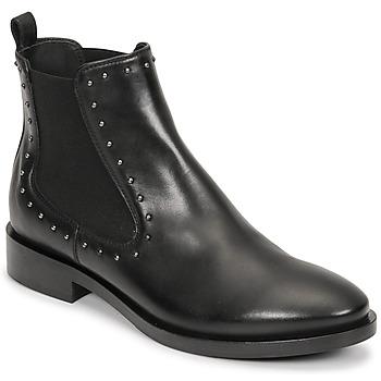 Zapatos Mujer Botines Geox BROGUE Negro
