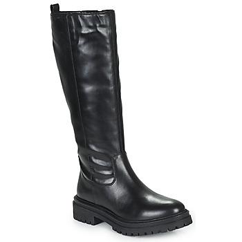 Zapatos Mujer Botas urbanas Geox IRIDEA Negro