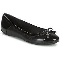 Zapatos Mujer Bailarinas-manoletinas Geox CHARLENE Negro