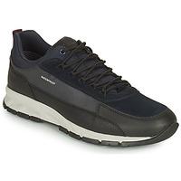 Zapatos Hombre Zapatillas bajas Geox DELRAY WPF Marino / Negro
