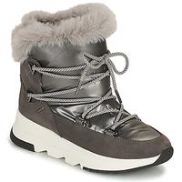 Zapatos Mujer Botas de nieve Geox FALENA ABX Gris