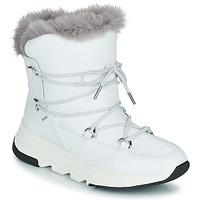 Zapatos Mujer Botas de nieve Geox FALENA ABX Blanco