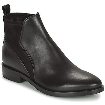 Zapatos Mujer Botas de caña baja Geox DONNA BROGUE Negro