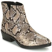 Zapatos Mujer Botas de caña baja Geox TEOCLEA Beige