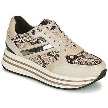 Zapatos Mujer Zapatillas bajas Geox KENCY Beige