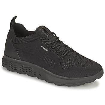 Zapatos Hombre Zapatillas bajas Geox SPHERICA Negro