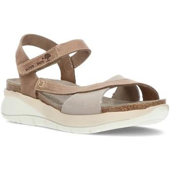 Zapatos Mujer Sandalias Interbios S  6910 GRIS