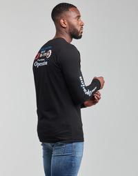 textil Hombre Camisetas manga larga Diesel T-DIEGOS-LS-K25 Negro