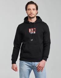 textil Hombre Sudaderas Diesel S-GIRK-HOOD-B8 Negro