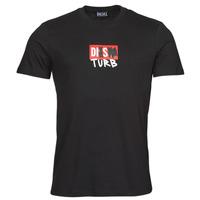 textil Hombre Camisetas manga corta Diesel T-DIEGOS-B10 Negro