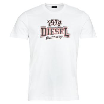 textil Hombre Camisetas manga corta Diesel T-DIEGOS-K26 Blanco