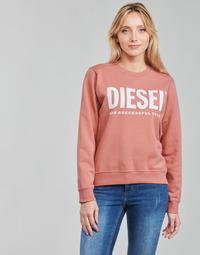 textil Mujer Sudaderas Diesel F-ANGS-ECOLOGO Rosa