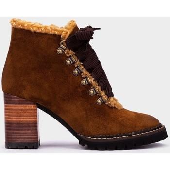 Zapatos Mujer Botines Pedro Miralles Alaska Marron
