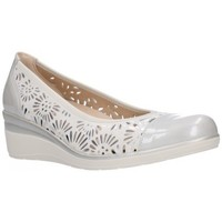Zapatos Mujer Bailarinas-manoletinas Pitillos 6622 Mujer Plata Argenté
