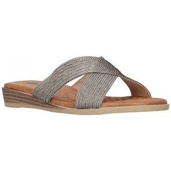 Zapatos Mujer Zuecos (Mules) Amaspies AMARPIES ABZ19054 Mujer Plomo gris