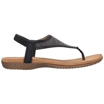 Zapatos Mujer Sandalias Amaspies AMARPIES ABZ19081 Mujer Negro noir