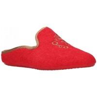Zapatos Mujer Pantuflas Norteñas 9-35-23 Mujer Rojo rouge