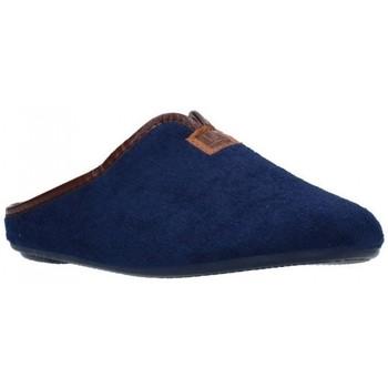 Zapatos Mujer Pantuflas Norteñas 9-191 Mujer Azul marino bleu