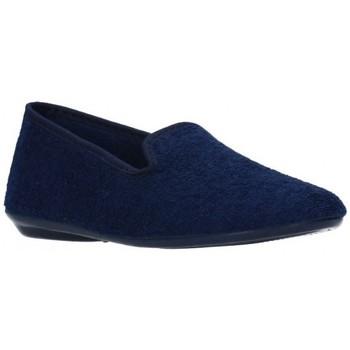Zapatos Niño Pantuflas Norteñas 9-980 Niño Azul marino bleu