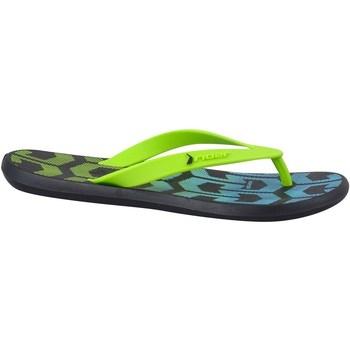 Zapatos Niños Chanclas Rider R1 Play Kids Verdes, Azul