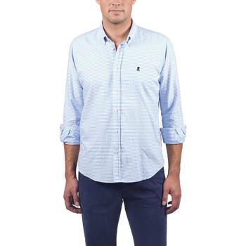 textil Hombre Camisas manga larga Elpulpo PM3007004 Azul