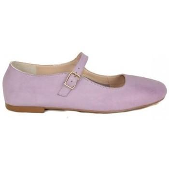 Zapatos Mujer Bailarinas-manoletinas Top3 BAILARINA PUNTA CUADRADA TIPO MERCEDITAS Violeta