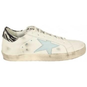 Zapatos Mujer Zapatillas bajas Top3 ZAPATILLA STAR COMBINADA DE Blanco