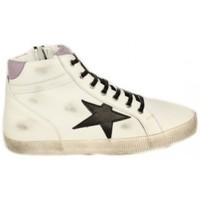 Zapatos Mujer Zapatillas altas Top3 BOTIN STAR COMBINADO DE Blanco