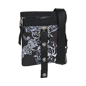 Bolsos Hombre Bolso pequeño / Cartera Versace Jeans Couture CHIRO Negro / Estampado / Bandana