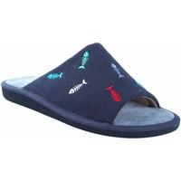 Zapatos Hombre Multideporte Garzon Ir por casa caballero  p386.127 azul Azul