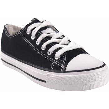 Zapatos Mujer Multideporte Bienve Lona señora  ca01 negro Negro