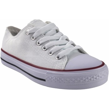 Zapatos Mujer Multideporte Bienve Lona señora  ca01 blanco Blanco