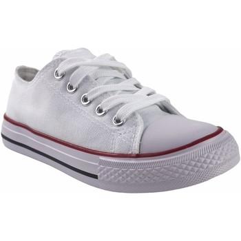 Zapatos Niña Multideporte Bienve Lona niño  abx063 blanco Blanco