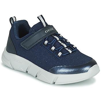 Zapatos Niña Zapatillas bajas Geox ARIL Azul