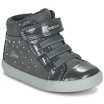 Zapatos Niña Zapatillas altas Geox GISLI Gris