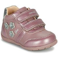 Zapatos Niña Zapatillas bajas Geox ELTHAN Rosa