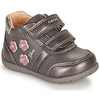 Zapatos Niña Zapatillas bajas Geox ELTHAN Gris