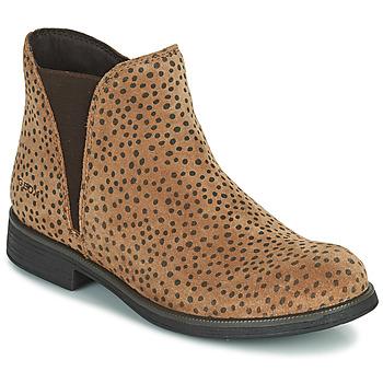 Zapatos Niña Botas de caña baja Geox AGATO Marrón