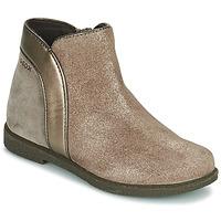 Zapatos Niña Botas de caña baja Geox SHAWNTEL Oro