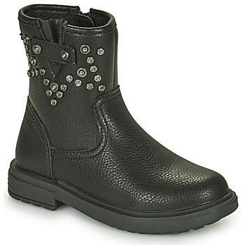 Zapatos Niña Botas de caña baja Geox ECLAIR Negro