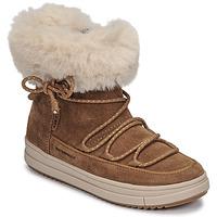 Zapatos Niña Botas de caña baja Geox REBECCA WPF Camel