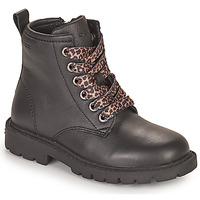 Zapatos Niña Botas de caña baja Geox SHAYLAX Negro