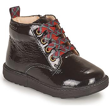 Zapatos Niña Botas de caña baja Geox HYNDE Negro