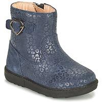 Zapatos Niña Botas urbanas Geox HYNDE Azul