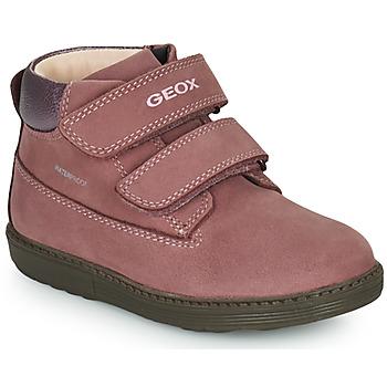 Zapatos Niña Botas de caña baja Geox HYNDE WPF Rosa