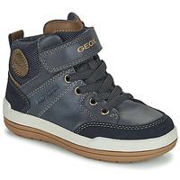 Zapatos Niño Botas de caña baja Geox CHARZ ABX Marino