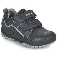 Zapatos Niño Botas de caña baja Geox SAVAGE Marino