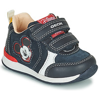 Zapatos Niño Zapatillas bajas Geox RISHO Marino
