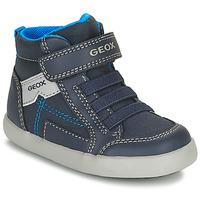 Zapatos Niño Zapatillas altas Geox GISLI Marino