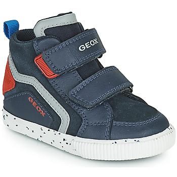 Zapatos Niño Zapatillas altas Geox KILWI Marino